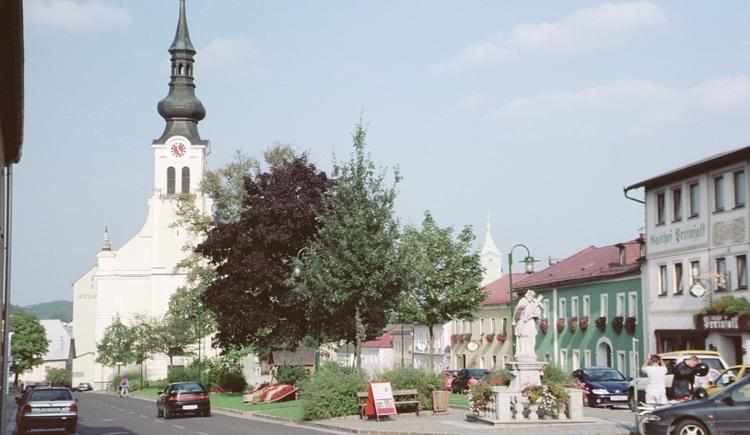 Reichenthal Ortsansicht mit Kirche