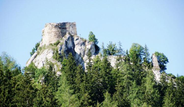 Burgruine Eppenstein (© Verein BENEDIKT BE-WEG-T)