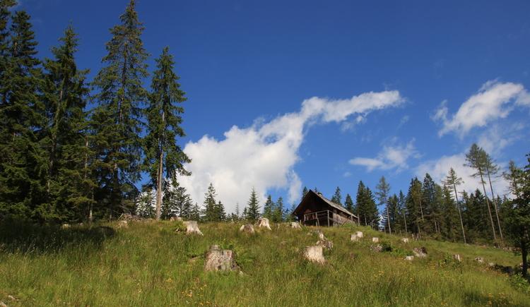 Die Rossmoosalm in Bad Goisern ist ein beliebtes Wanderziel für Jung und Alt.