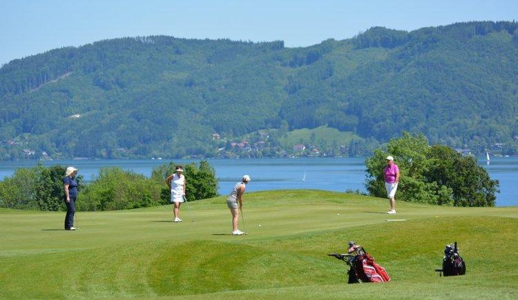 Grün 1 (© Golfclub am Attersee)