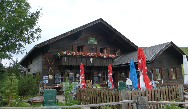 Schafbergblickhütte. (© WTG)