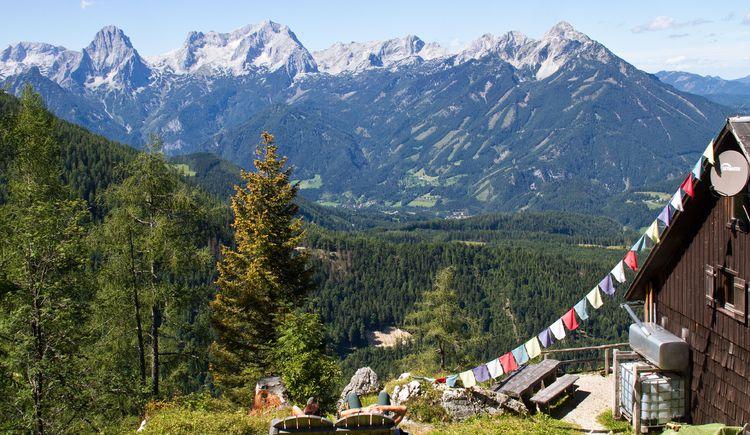 Prielblick von der Zellerhütte (© TVB Pyhrn-Priel/Sulzbacher)