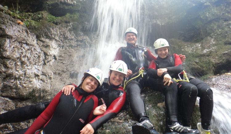 Canyoning Halbtags (© Naturesports)