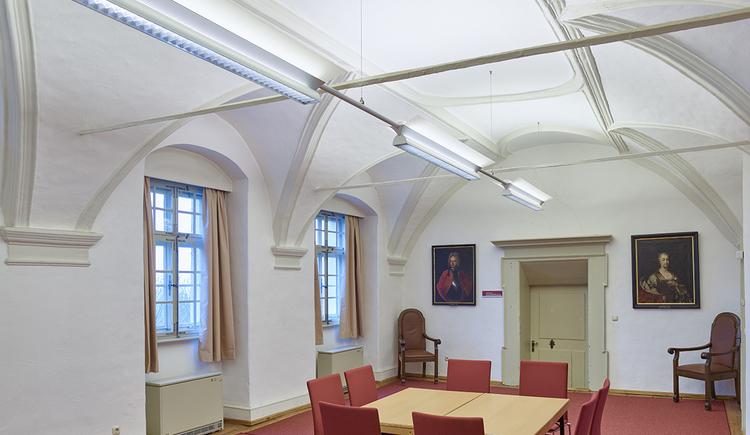 Schloss Weinberg, Waffenkammer