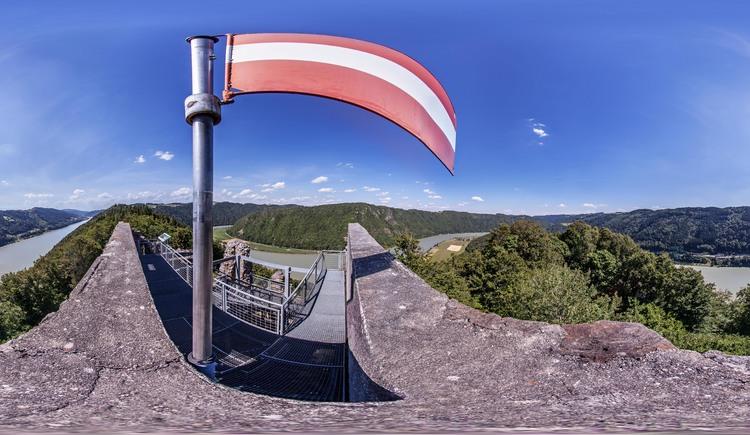 Burgruine Haichenbach (© WGD Donau Oberösterreich Tourismus GmbH / Weissenbrunner)