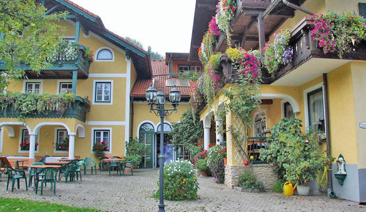 landhotel Waldmühle in Straß im Attergau. (© Landhotel Waldmühle)