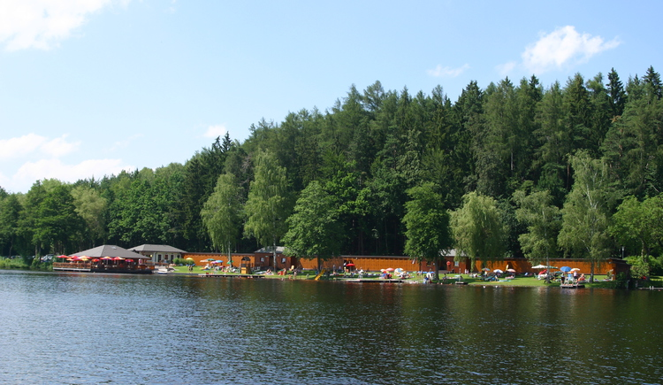 Strandbad Holzöstersee. (© TV-Franking/Schickmayr)