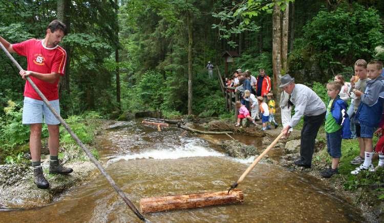 Schauschwemmen Klammleiten (© Tourismusverband Königswiesen)