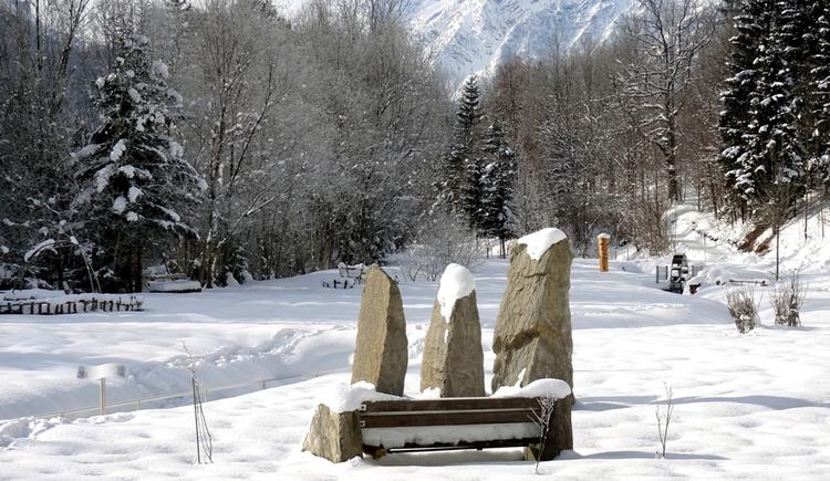 Kneippanlage Hinterstoder Winter. (© Heinz Schachner)