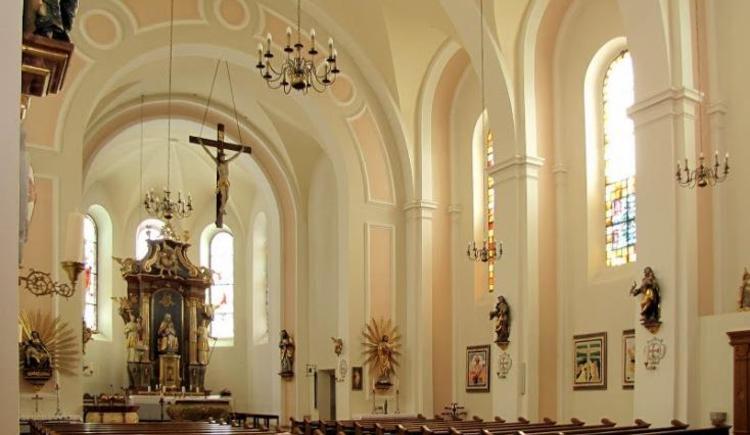 Kirche Innen - Bernhard Krenn (© Bernhard Krenn)