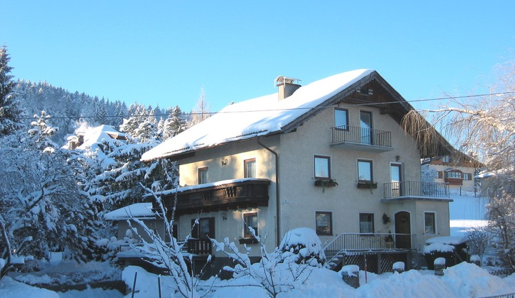 Haus Rosenlechner, Außenaufnahme. (© Fam. Rosenlechner)