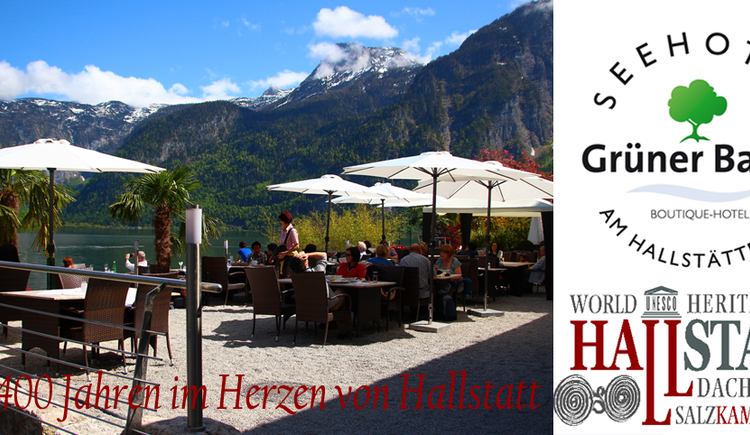 The Seehotel Grüner Baum is situated between Lake Hallstatt and the historic market place.