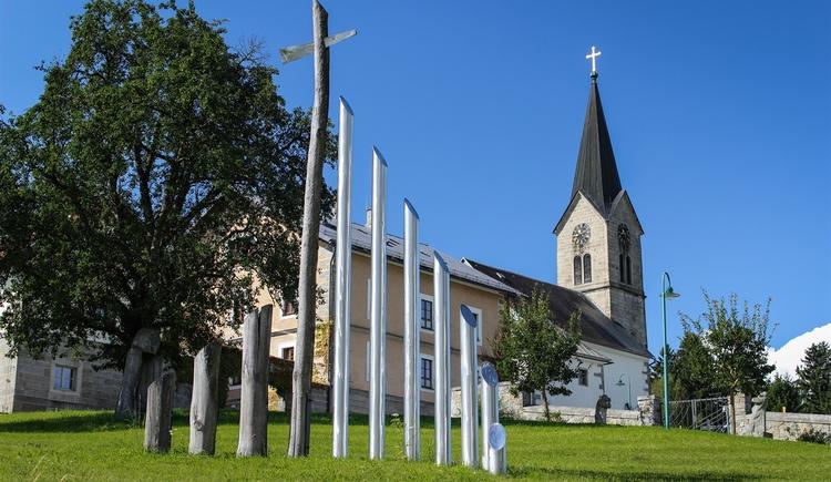 Pfarrkirche Schwarzenberg (© Gemeinde Schwarzenberg)