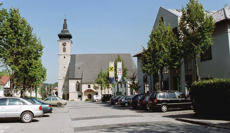 Wolfern Ortsansicht mit Kirche