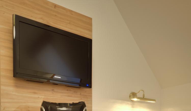 Einzelzimmer, Fernseher (© Eberl)