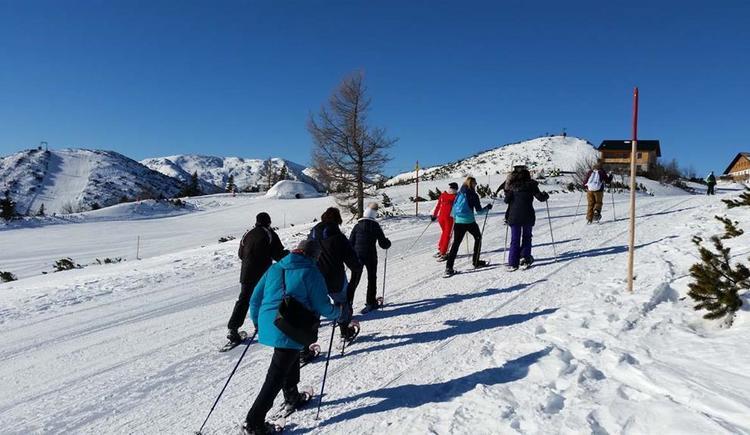 Schneeschuhwandern (© Tourismusbüro Ebensee)