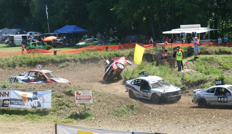 Stock-Car-Rennen in Rossbach