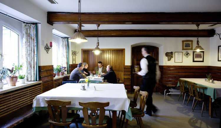 Hoftaverne Ziegelböck, alte Gaststube, Vorchdorf, Almtal