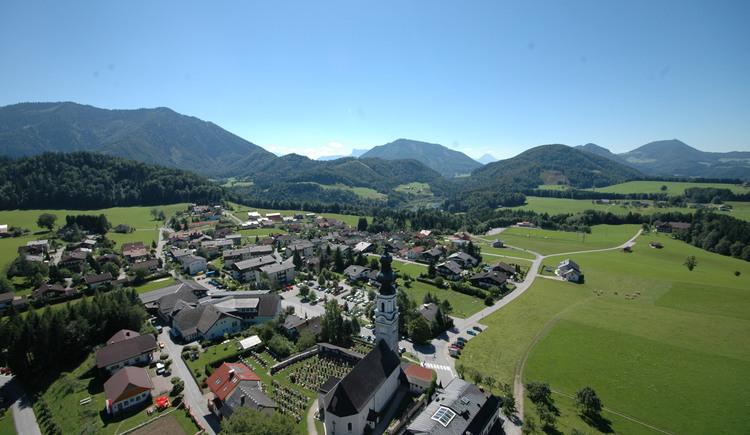 Luftbild von Faistenau nähe Salzburg (© Tourismusverband Faistenau)