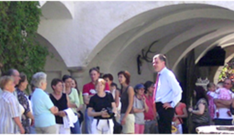 Führung in Schloss Waldenfels