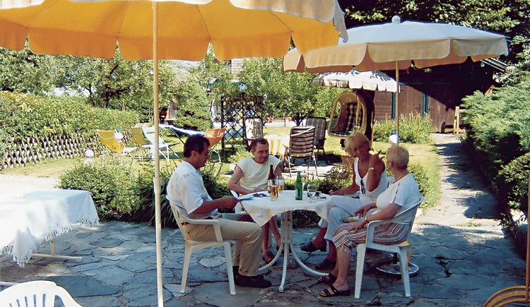 Hotel-Pension Falkensteiner, Garten