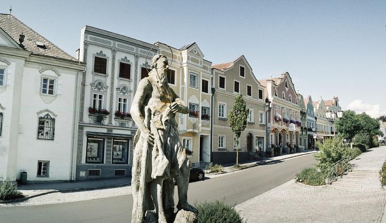 Historischer Markt Neufelden. (© Andreas Balon)