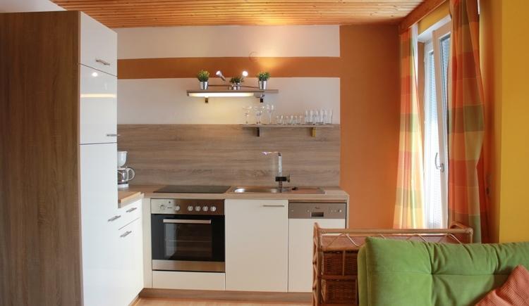 Kueche Wohnung 3 Ferienwohnung Christine Schober im Attergau Salzkammergut
