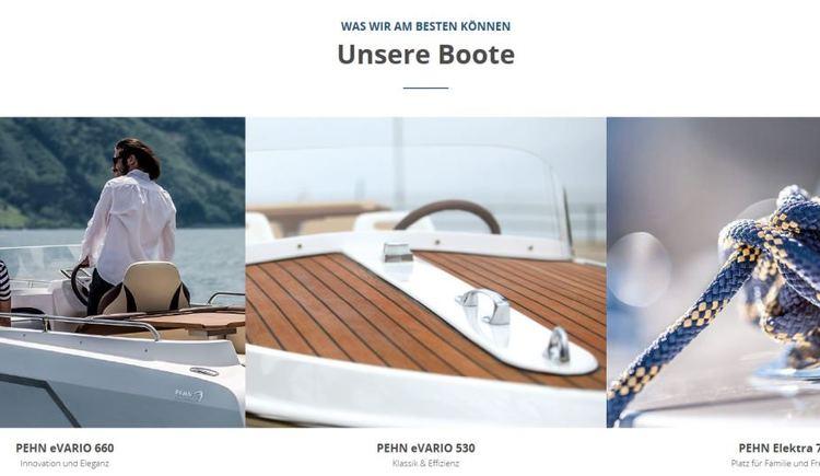 Boote Pehn Bootsbau Produkte