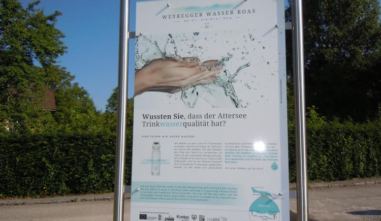 wasserweg tour Park