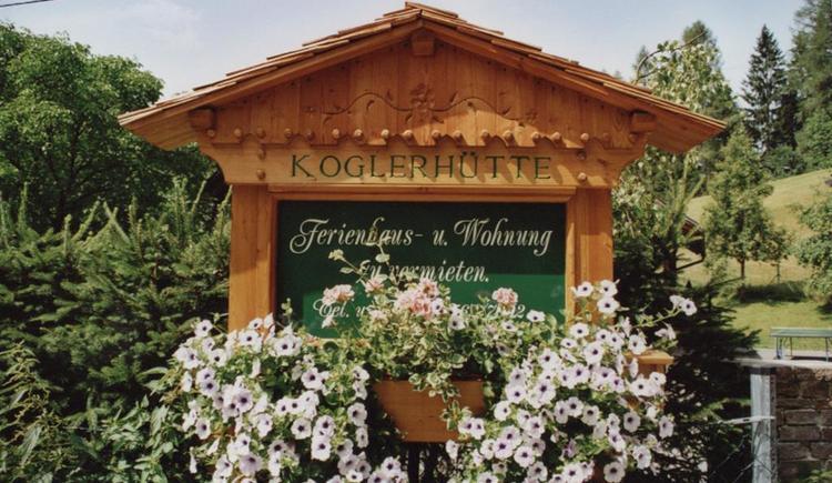 Willkommen beim Bio-Blockhaus Koglerhütte