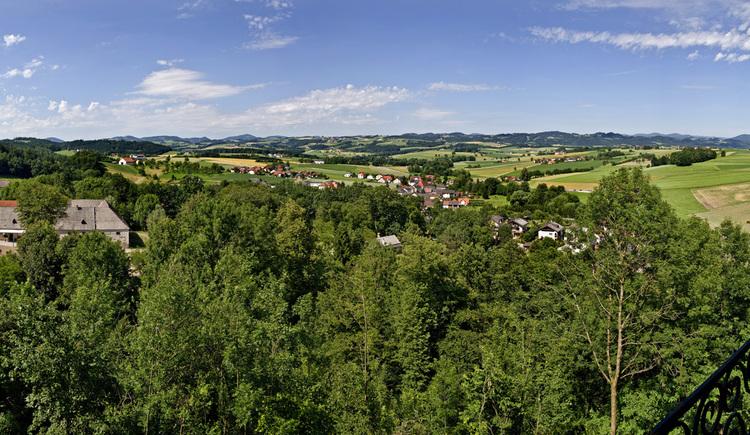 Panorama Burg Clam (© Donau OÖ/Weissenbrunner)
