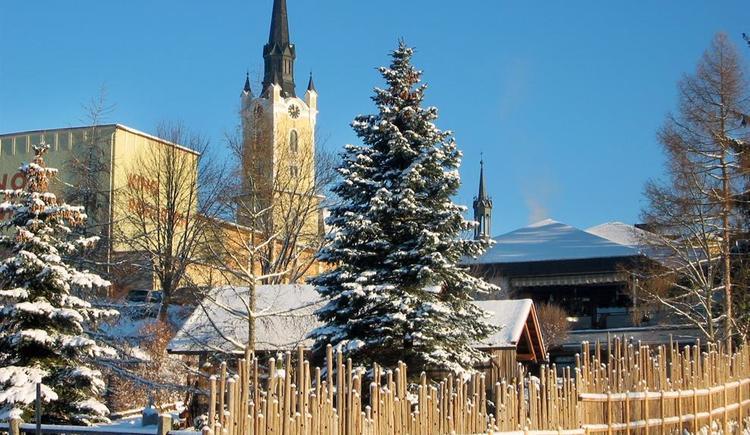 Stadtpfarrkirche im Winter (© Ferienregion Böhmerwald | Schwarzmann)