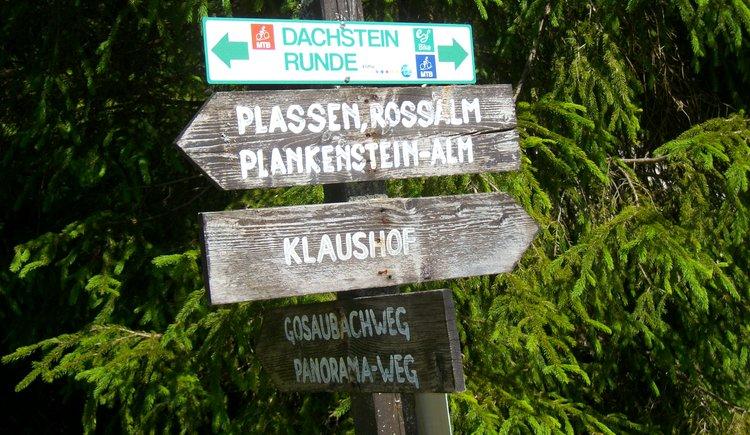 Alle Wege führen zur Klaushofstube ... (© Knappe-Benesteem)