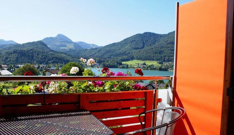 Ausblick Balkon (© Haus Brigitte)