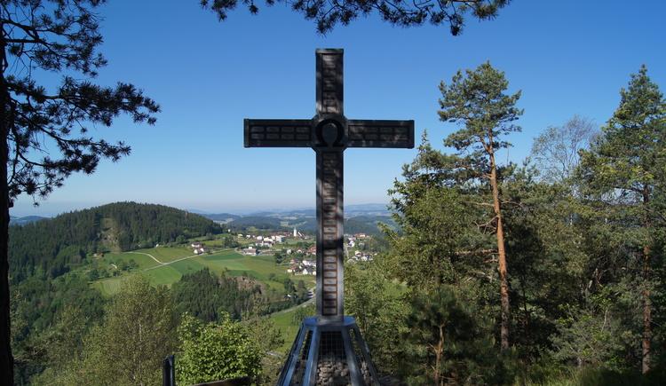 Gipfelkreuz Haiderberg (© Markgemeinde St. Leonhard)
