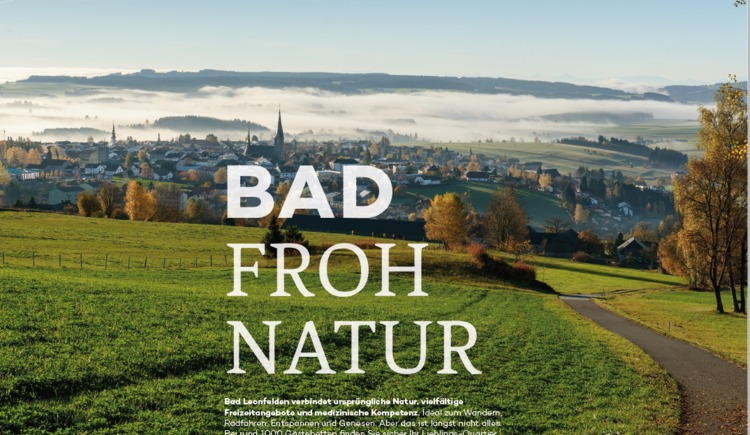 Bad Froh Natur (© Tourismusinformation Bad Leonfelden)
