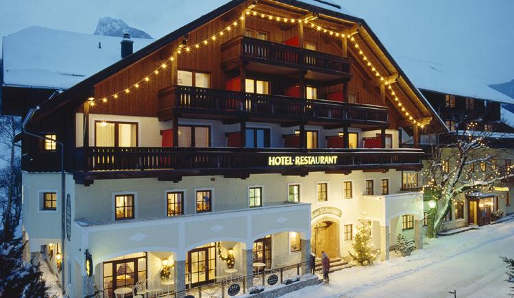 Außenansicht Winter (© Hotel Mohrenwirt)