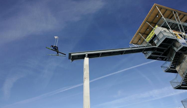 SKI-Flyer - das ultimative Skiflugerlebnis für Jedermann. (© Innviertel-Tourismus)
