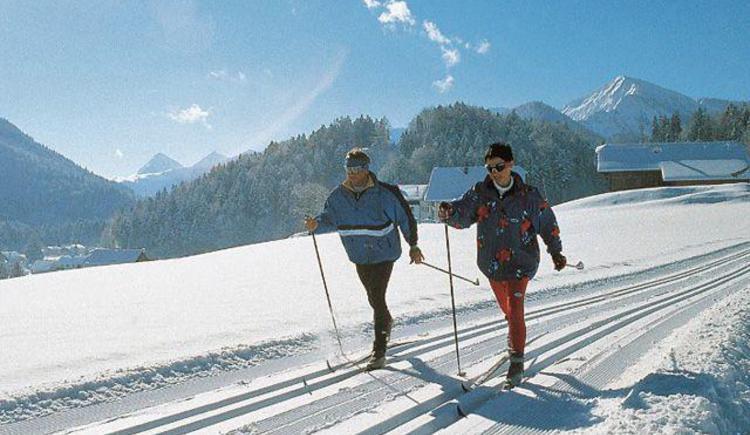 Langlaufen (© Tourismusverband Hintersee)