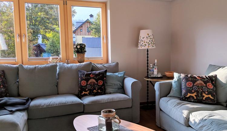 Wohnung Bergglück - Wohnbereich (© dasGams)