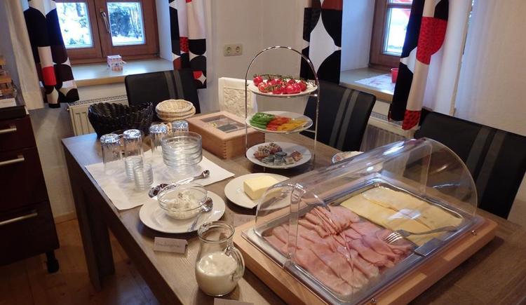 Buffet Frühstück (© Silberleithner)