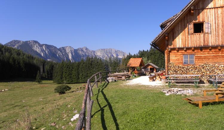 Schaumbergalm. (© Nationalpark Kalkalpen)