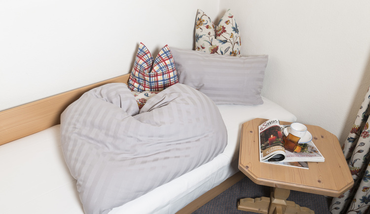 Ferienwohnung Girbl Einzelbett
