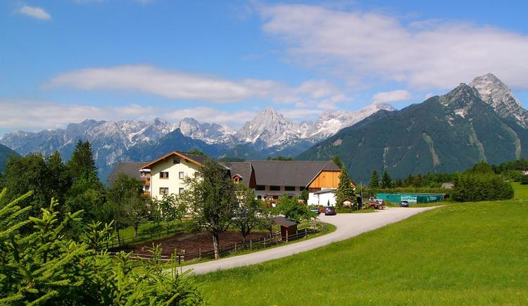 Lindbichler Hotelfoto Sommer (© Almhotel Lindbichler)