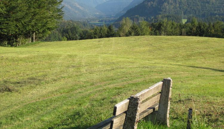 Ausblick zum Hintersee (© Tourismusverband Faistenau)