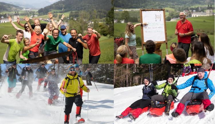 Ganzjahresprogramme (© Abenteuer Management - Laresser-Hinteramskogler)