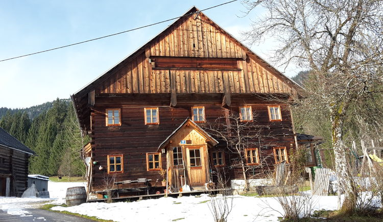 Our wooden house was built in the traditional style of Salzkammergut.