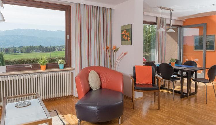 Ferienhaus Malerhügel, Wohnzimmer