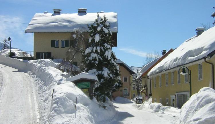 Ortszentrum. (© Tourismusverband Ebenau)