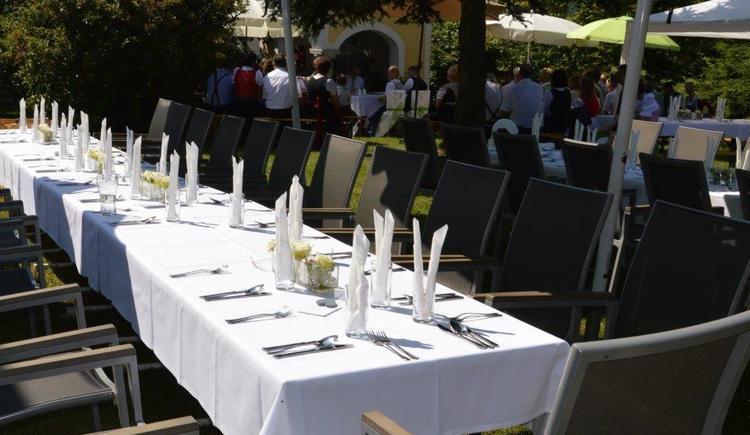Catering im Freien (© Privat)